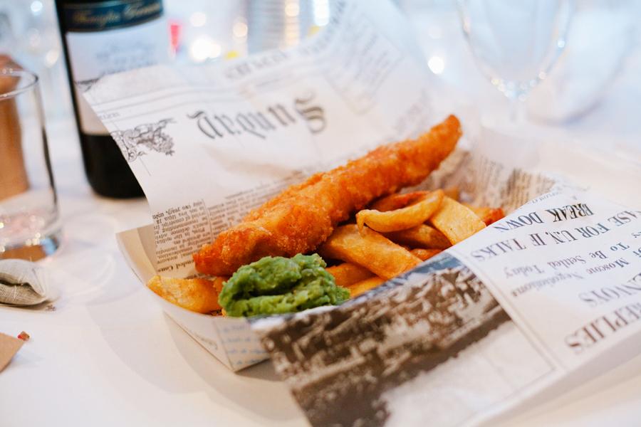 Oppskrift Fish 'n' chips